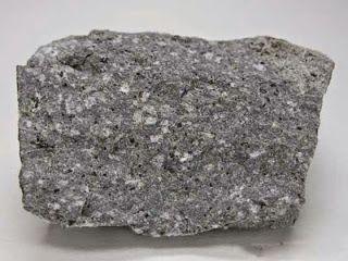 Tipos de rocas: andesita