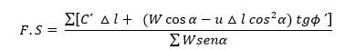 Ecuacion de Fellenius
