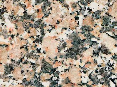 Tipos de rocas: granito