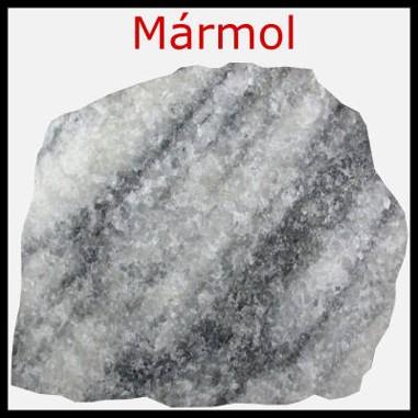 Tipos de rocas: marmol