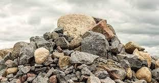 imagen representativa de un suelo rocoso