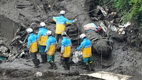 80 PERSONAS DESAPARECIDAS POR DESLIZAMIENTOS DE TIERRA EN JAPÓN